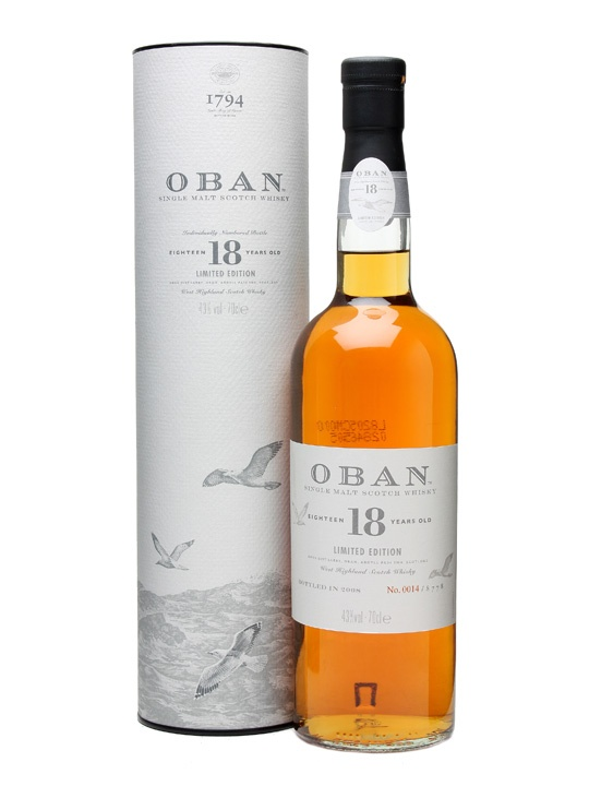 Oban 18  [Single Malt Sotch Whisky]