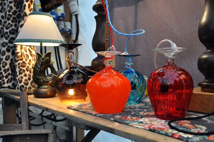 Vintage Fayre.  Fathers Shed at Hay Does Vintage, Hay-on-Wye