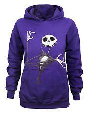 Nightmare before Christmas clothes | Nightmare Before Christmas Jack Skellington Womens Purple Hoody By ...