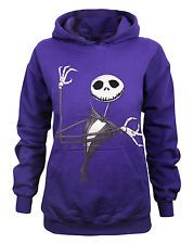 Nightmare before Christmas clothes | Nightmare Before Christmas Jack Skellington Womens Purple Hoody By ...
