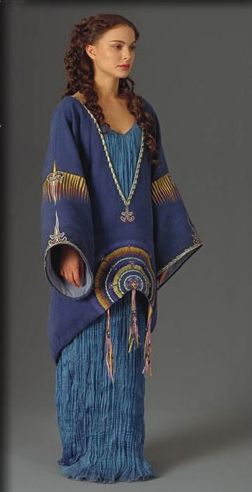 Star Wars Padme Amidala Tatooine Blue Dress- if i could just wear this once my life would be fulfilled!