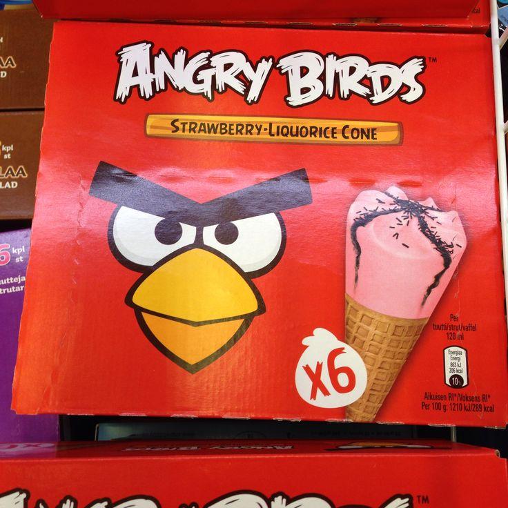 Angry Bird icecream