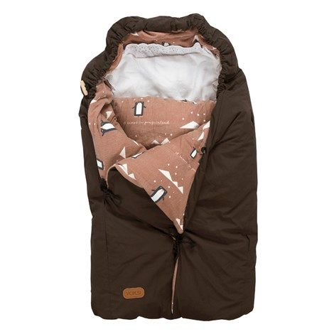 Classic Penguin Brown Voksi sleeping bag