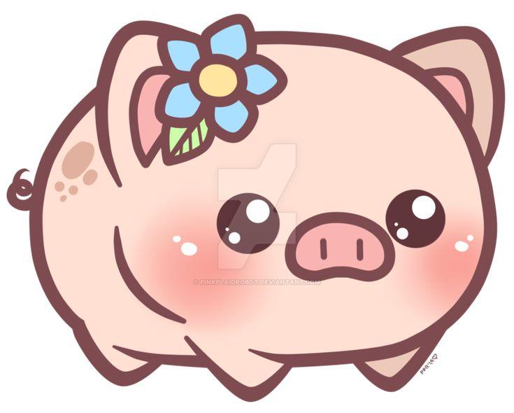 Little Piggy_Charm Design by pinkplaidrobot