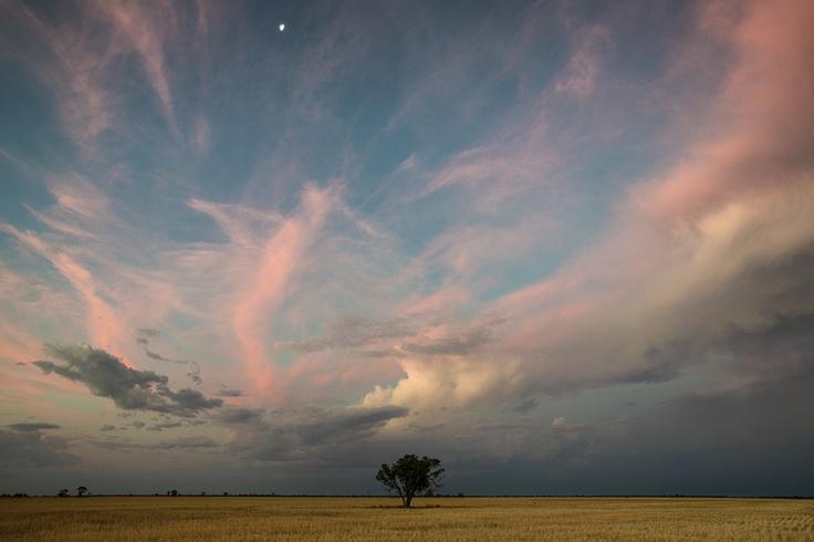 Sunset Sky near Coonamble NSW Australia