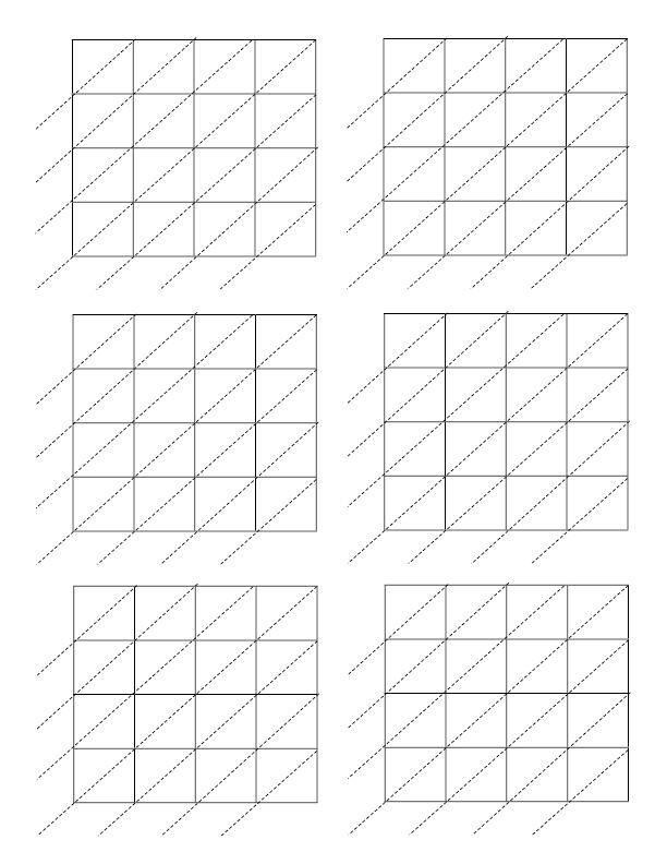 4x4 Lattice Computation Grid Worksheet Lattice Worksheets Math