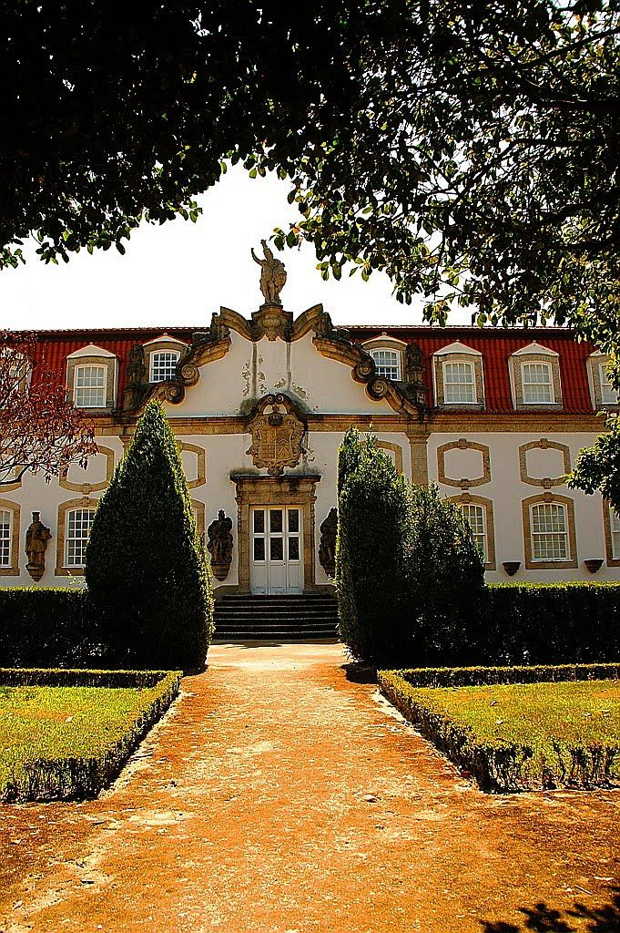 Guimarães, Jardim do Palácio Vila Flor Portugal