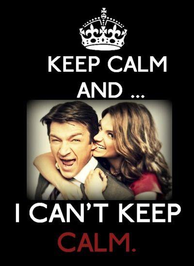 ... I can't keep calm.