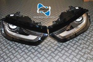 2x Neu Original Scheinwerfer Bixenon Xenon Led Fur Audi A4 S4 ab 2011- 8K0941006C 8K0941005C
