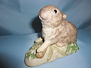 Cybis Bunny Figurine: Rabbitsand Cottontail
