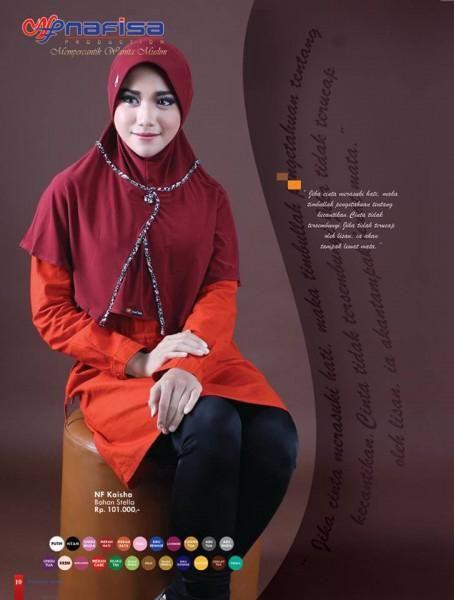 Jilbab Nafisa Kerudung NF KAISHA