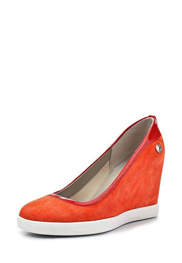 Оранжевые туфли 2014