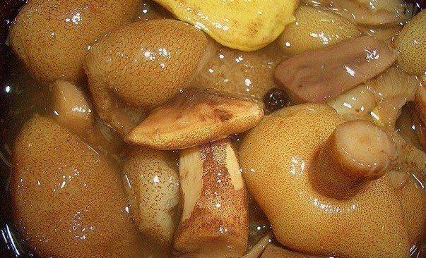 Маринованные грибы / Царский пир
