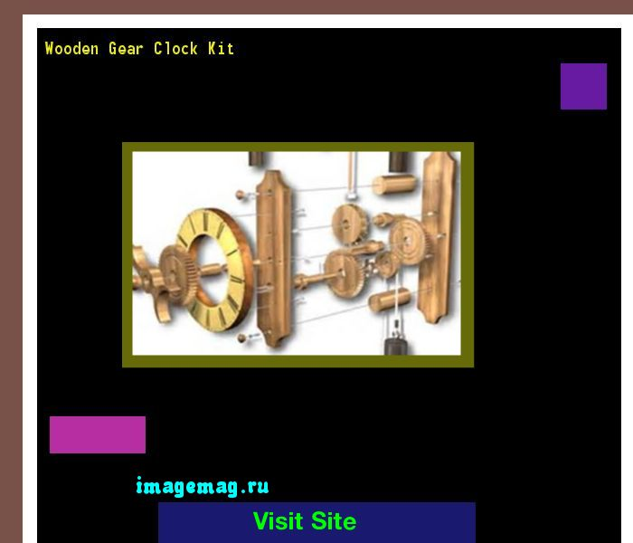 Wooden Gear Clock Kit 183953 - The Best Image Search