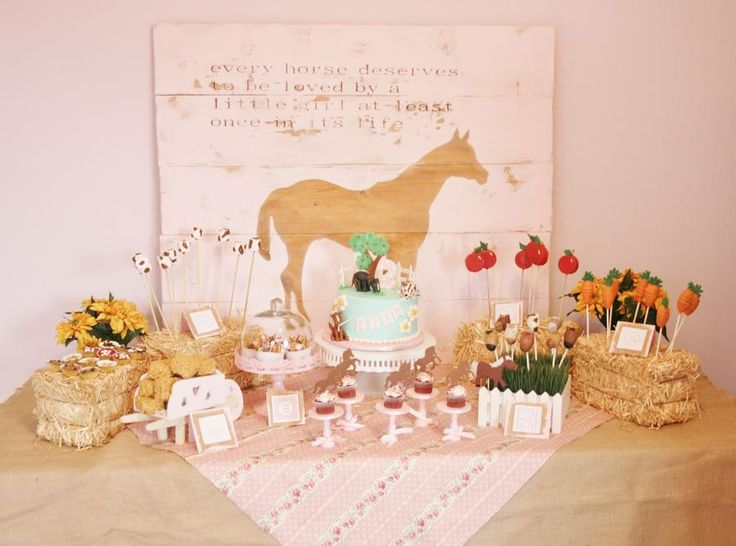 Great Ideas For Food A Horse Themed Party Love The Hay
