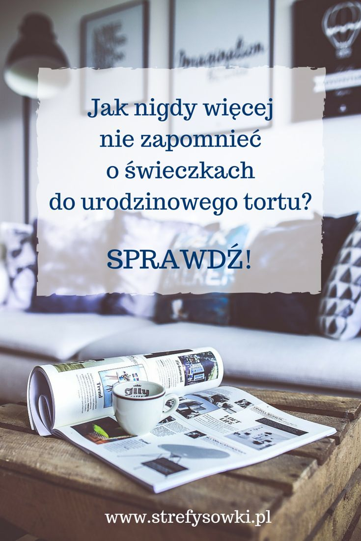 Ile razy zdarzyło Ci się w ostatniej chwili biec (albo wysyłać dzieci) do sklepu po warzywa do obiadu albo ciastka do kawy? To niepotrzebny stres, strata czasu i pieniędzy – tym bardziej, że większość takich sytuacji najzwyczajniej w świecie da się przewidzieć...  http://strefysowki.pl/2015/06/straszne-slowo-na-p/   #planowanie #organizacja