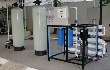 1. Reverse Osmosis is a process in which dissolved inorganic solids (such as salts) are removed from water. This is accomplished by passing the water through a semi permeable membrane.