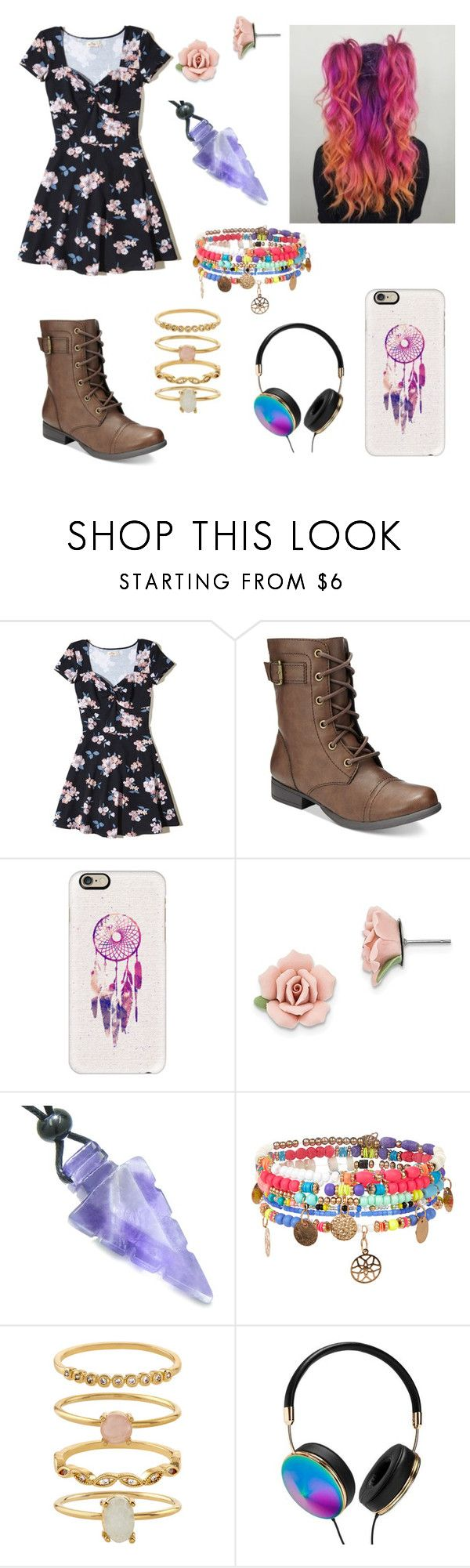 """""""She's got that one international smile"""" by shelbyelizabeth2001 ❤ liked on Polyvore featuring Hollister Co., American Rag Cie, Casetify, 1928, Monsoon, Accessorize and Frontgate"""