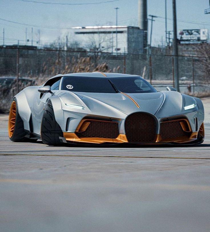Widebody Bugatti La Voiture Noire in 2020 Sports cars