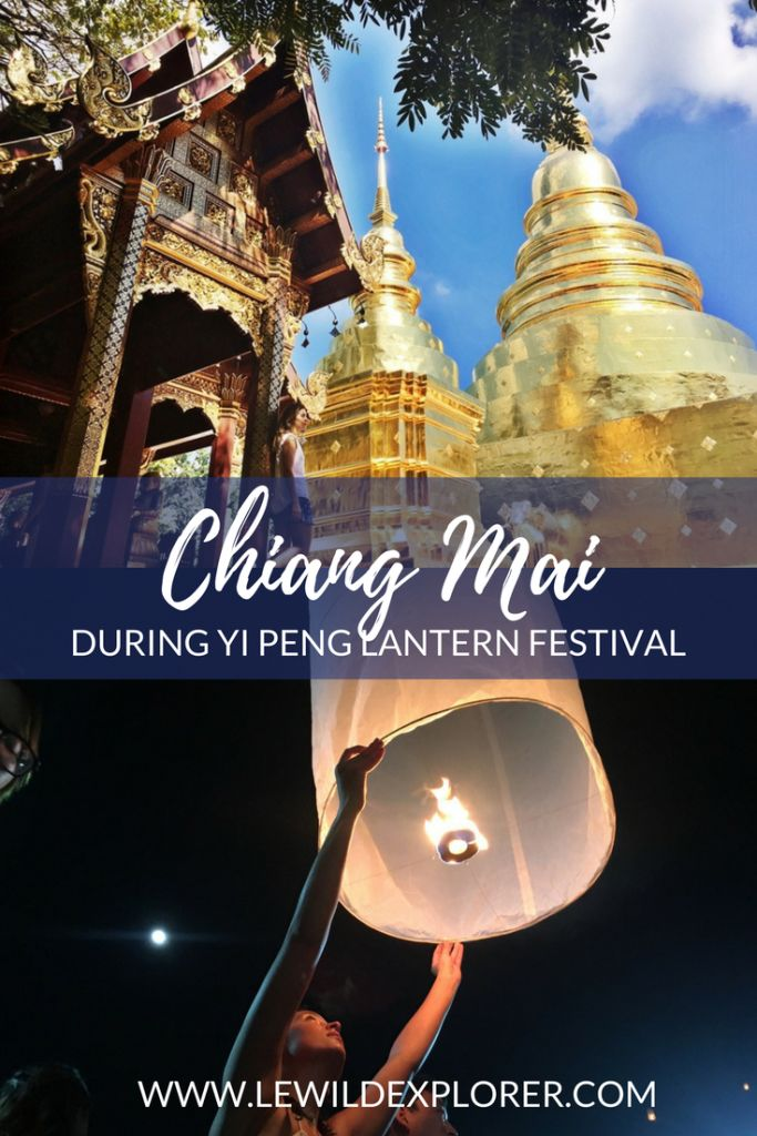 "Yi Peng, or more commonly known to Westerners as the ""Floating Lantern Festival"" or ""Lantern Festival"" had been on my list of festivals to attend for years. This year I really wanted to make it happen because I had put it off many times. I didn't make any excuses this year and I finally got … Continue reading ""Visiting Chiang Mai, Thailand for Yi Peng ""The Floating Lantern"" Festival"""