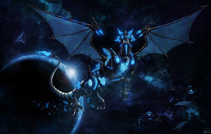 Cyber Dragon Wallpaper Dragon Mechanical / SteamPunk Art