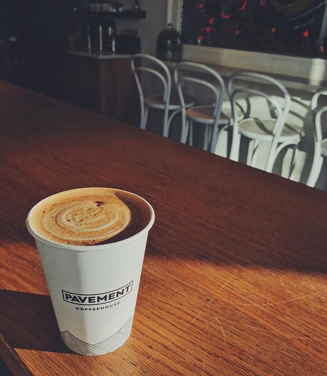 Pavement Coffeehouse has six locations in Boston. We are committed to sourcing, brewing, and serving the best cup of coffee and baking the best bagels possible.