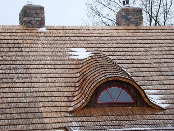 Dach kryty dachówką