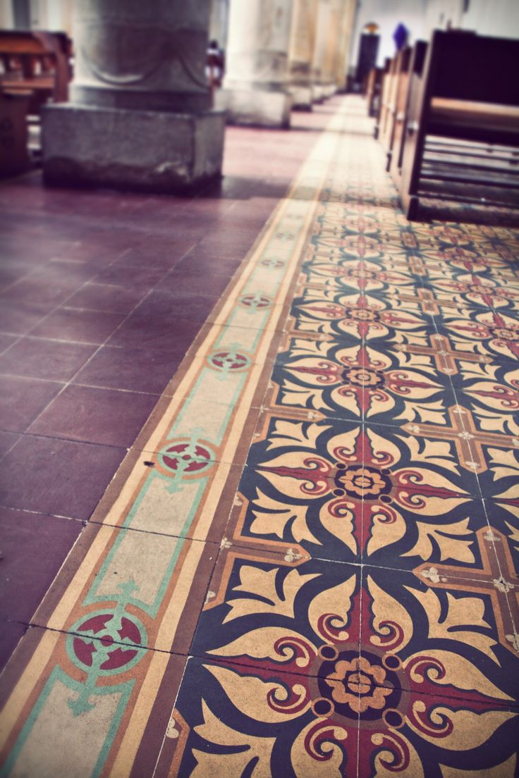 spanish tile flooring - Unique Tile Floors