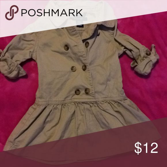 Toddler girl Peacoat Dress Perfect condition only worn once! Nautica Dresses