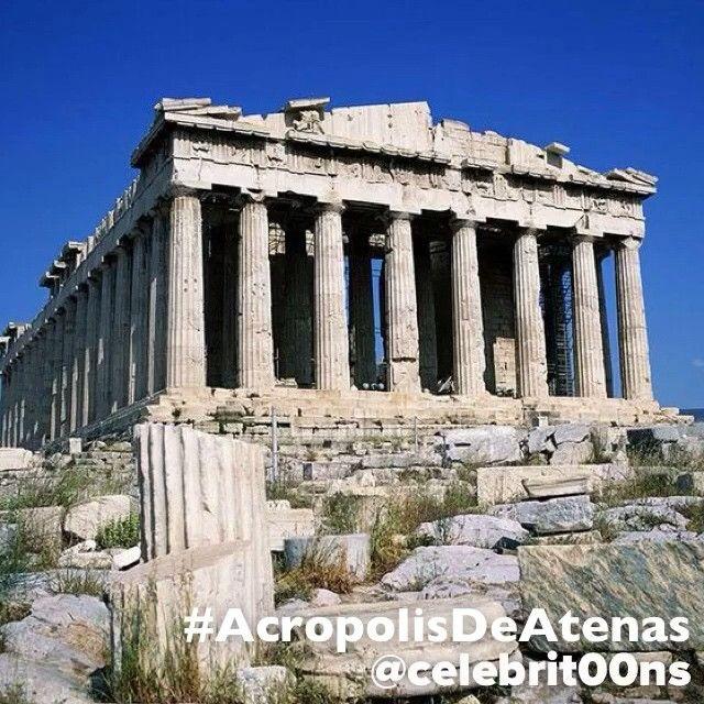 """""""#Finalista  #7MaravillasDelMundo  La #AcropolisDeAtenas puede considerarse la más representativa de las acrópolis griegas. La acrópolis era, literalmente,…"""""""