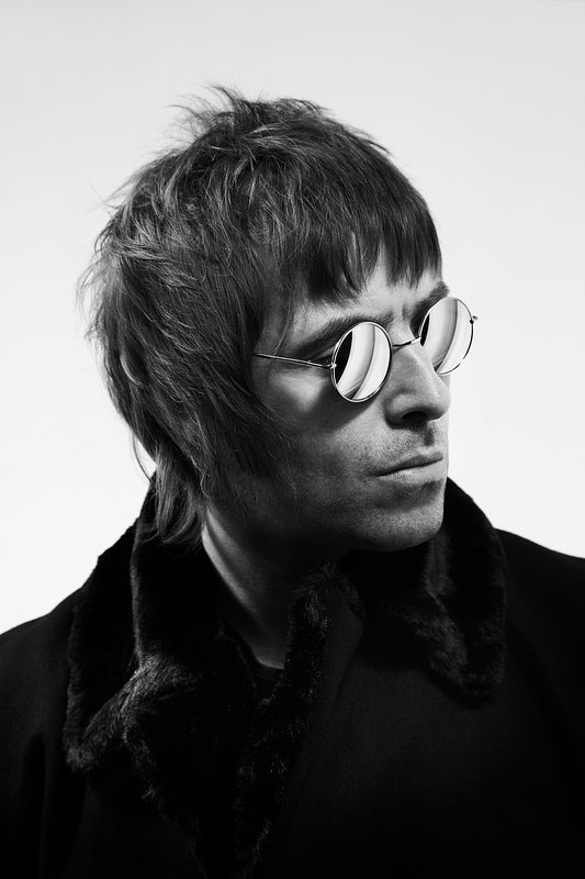 Liam Gallagher shot by Andrew Whitton. probationlondon.com