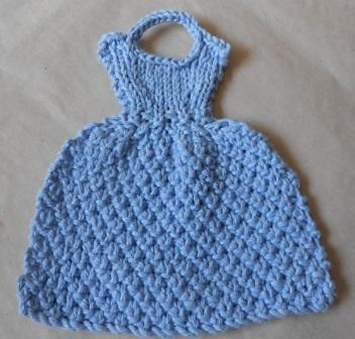 Free Crochet Dishcloth Dress Pattern Pakbit For