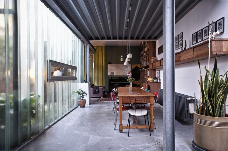 HOUSE PIVO OYO ARCHITECTS INTERIOR INDUSTRIAL