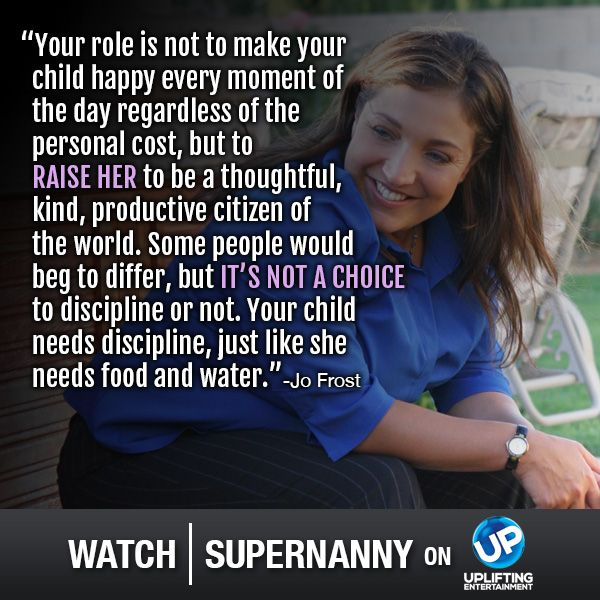 Watch Supernanny on UP!