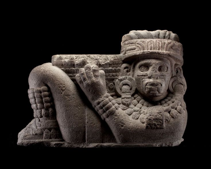 Chac Mool • Mexica, Posclásico tardío, 1250-1521 d.C.