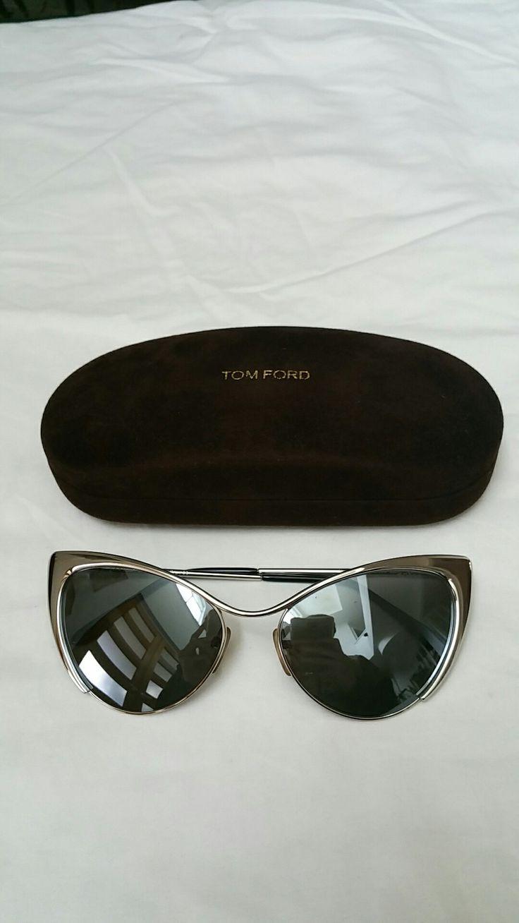 Tom Ford Nastasya cat eye sunglasses w case  Womens 10/10 cat eye $250 #tomford #luxury #cateye #sunglasses #style #ebay Sold