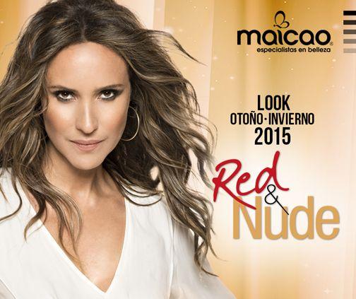 """Look """"Nude"""", Especial Belleza Otoño-Invierno 2015, MAICAO"""