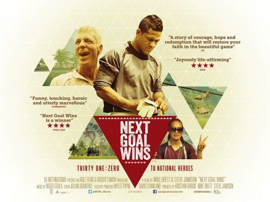 NEXT GOAL WINS-moving, beautiful little film