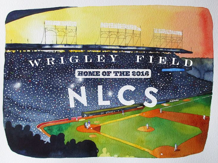 Wrigley Field - Home of the 2016 National League Championship Series