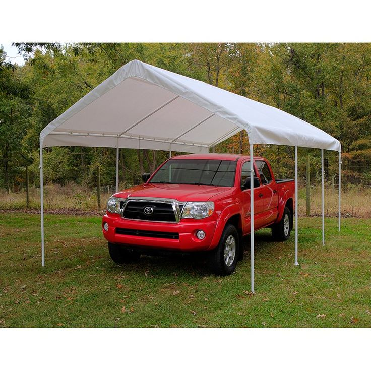 King Canopy 10 x 20 ft. Universal Canopy Carport - C81020PCS  sc 1 st  Pinterest & Best 25+ Temporary carport ideas on Pinterest | Pole barn house ...