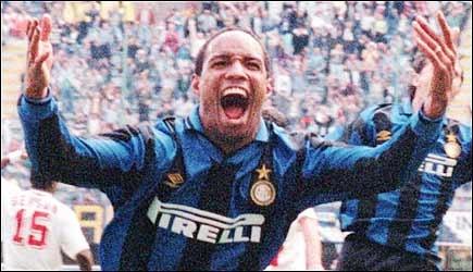 Il mio sogno è di tornare all'Inter...guardando indietro, i due anni trascorsi in Italia sono stati i migliori della mia vita. Paul Ince. Il Governatore.