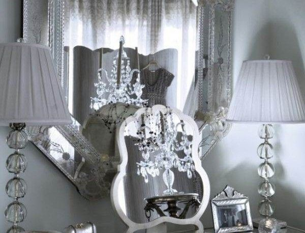 Inspiring Luxury Vanities For Bedrooms With Amazing Table Lamps And Elegant Large Mirror To Equip Bedroom Vanity Interior Design Furniture Represents Your Personality Furniture