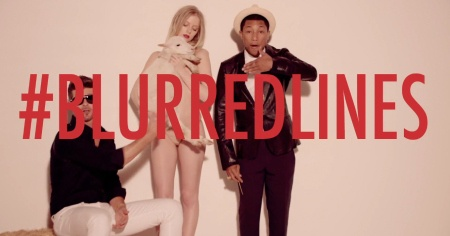Blurred lines ~ Robert Thicke, Pharrel and T.I.
