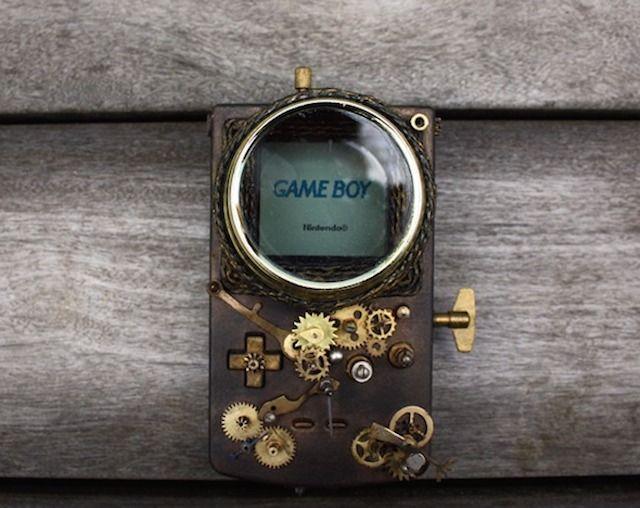 Você compraria este Game Boy steampunk (1)