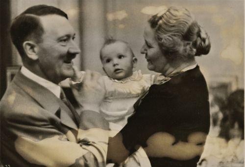 With emmy göring and her daughter edda edda göring daughters edda