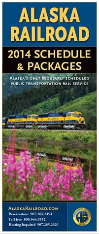 Free brochure from the Alaska Railroad! Vacation packages, day trips, scenic rail journeys -- perfect for planning your 2014 Alaska vacation! www.AlaskaRailroad.com