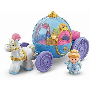 Fisher-Price Little People Disney Princess Cinderella's Coach...want want want but can't find :(