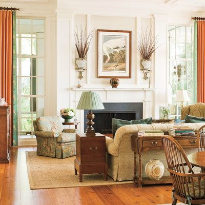 Embrace Ideas from the Past - 104 Living Room Decorating Ideas - Southern Living