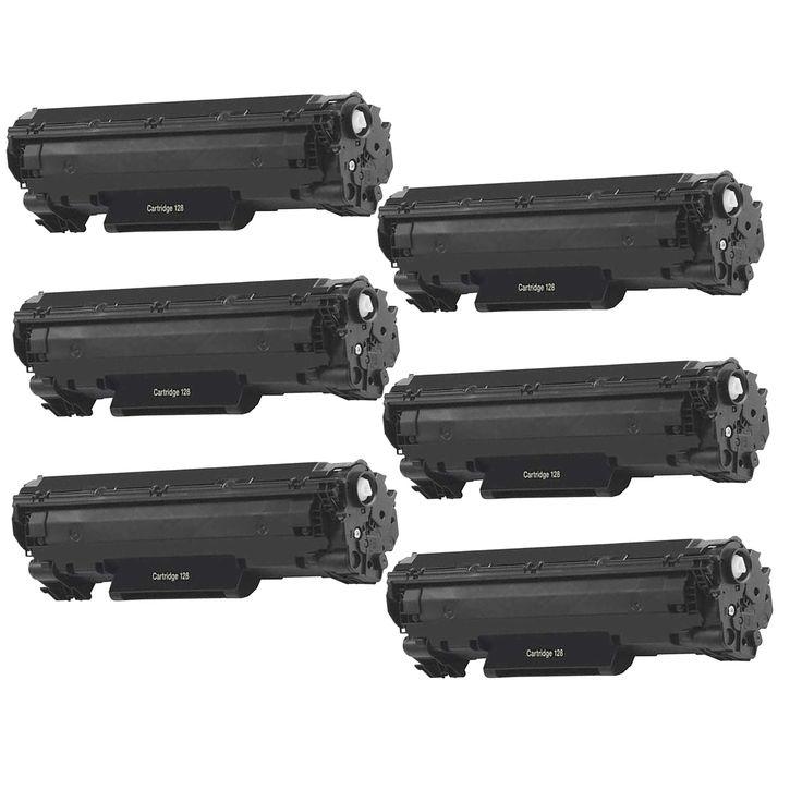 N 6PK Canon 128 Compatible Toner Cartridge Canon imageCLASS D550 imageCLASS MF4450 imageCLASS MF4570dn