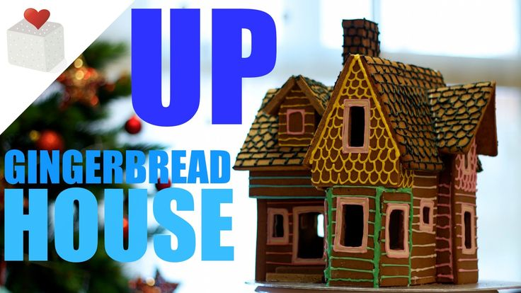 Casa de Jengibre de UP, la película de Disney | UP Gingerbread House | p...